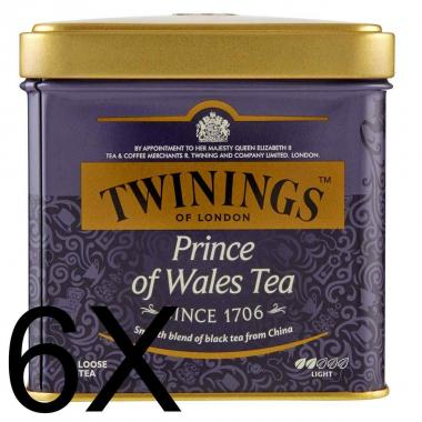 Twinings Prince of Wales Tea 100g sfuso Latta X 6Pz