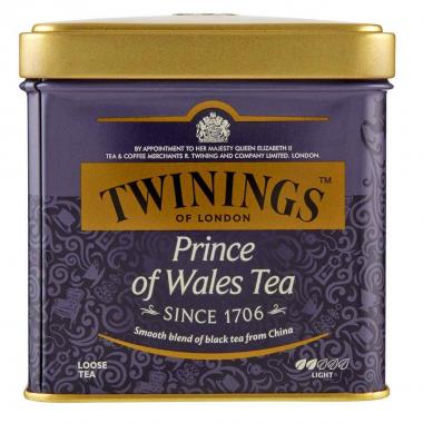 Twinings Prince of Wales Tea 100g sfuso Latta