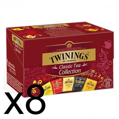 Twinings Classic Tea Collection Bustine 40g X 8PZ