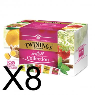 Twinings Infusions Infusi Collection 5 Gusti 40g X 8PZ