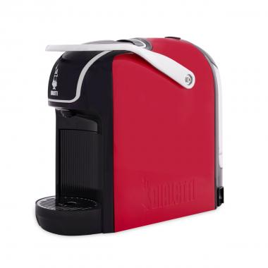 Macchina Bialetti Break Red Rossa + 64 Capsule Originali