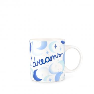Bialetti Originale Tazza Porcellana Mug Messaggio Dream 290ml.
