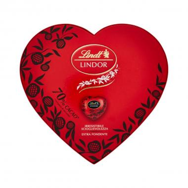 Lindt Cuore Lindor Fondente 96g Scatola