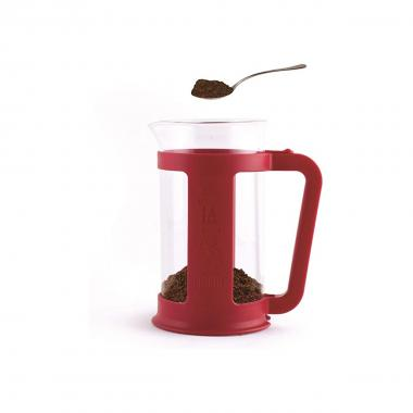 Bialetti Originale Coffee Press Smart 1L Rosso Pressofiltro