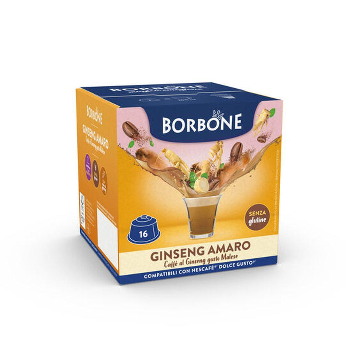 Borbone Dolce Gusto Ginseng 16 pz