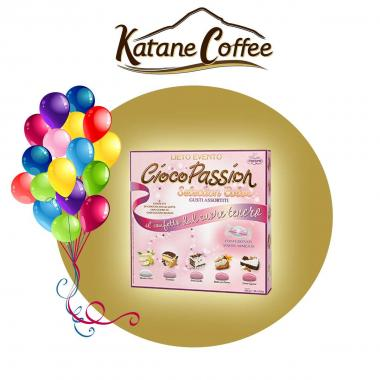 Crispo Confetti CiocoPassion Selection Color Rosa 500g